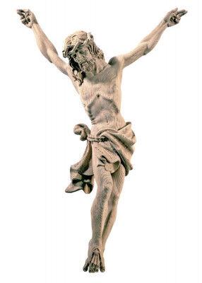 Christus-Corpus aus wetterbeständiger Eiche
