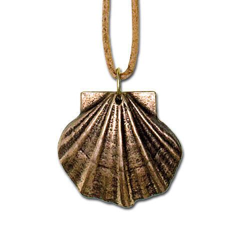 Anhänger Jakobsmuschel, aus Bronze