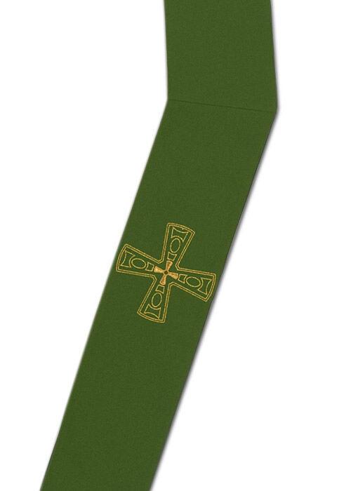 Diakonstola mit Symbolstickerei