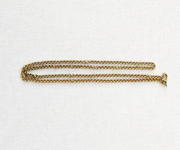 Halskette bronziert