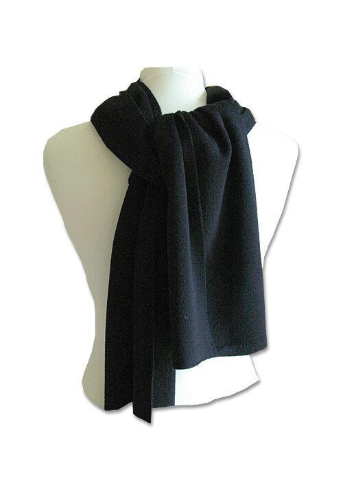 Schal mit feiner Merinowolle
