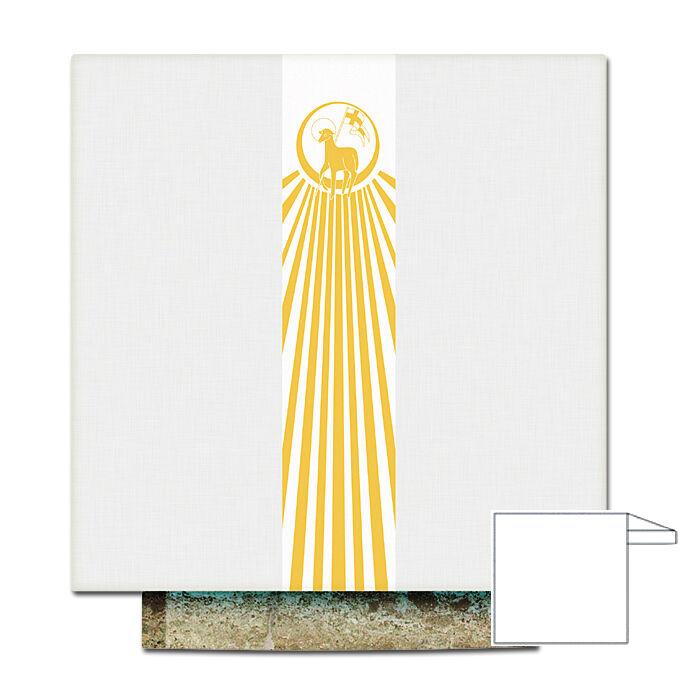 Altartuch mit Osterlamm-Motiv in Drucktechnik