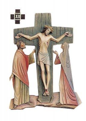 Ansicht der Kreuzigung