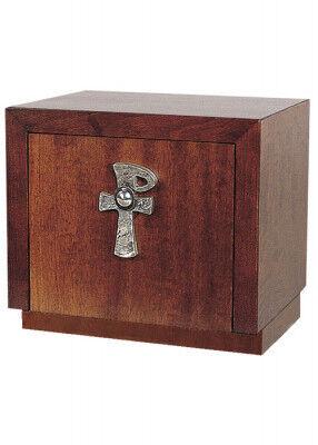 Kleiner Holztabernakel mit XP-Emblem