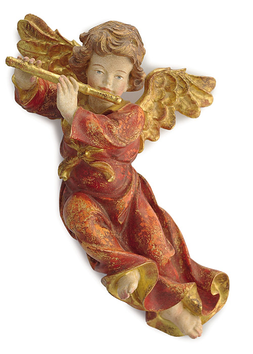 Barockengel mit Flöte