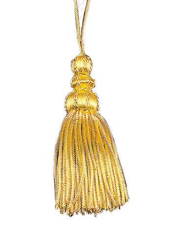 Bouillonquaste goldfarbig