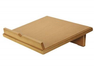 Messbuchpult aus naturhell gebeiztem Buchenholz
