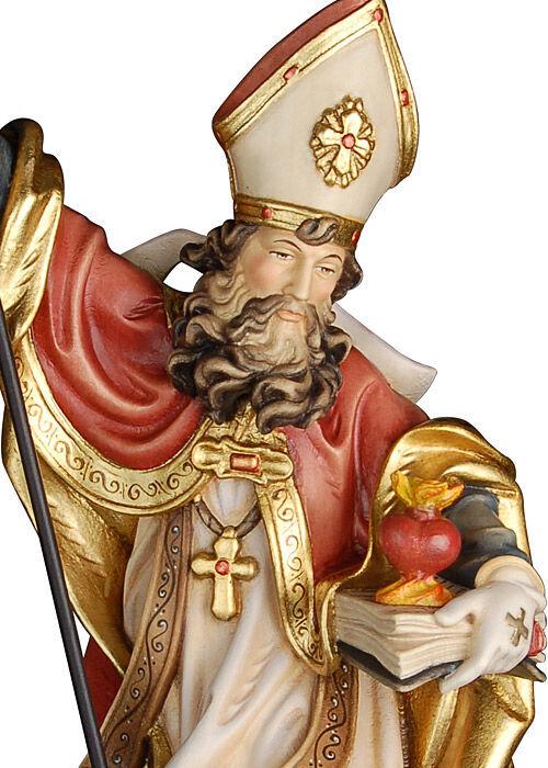 Heiliger Augustinus mit brennendem Herzen: antik gefasst