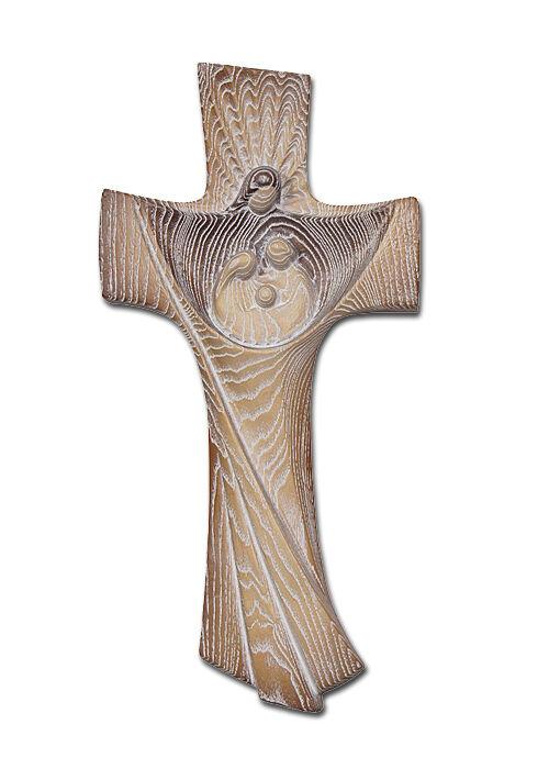 Wandkreuz aus Eschenholz