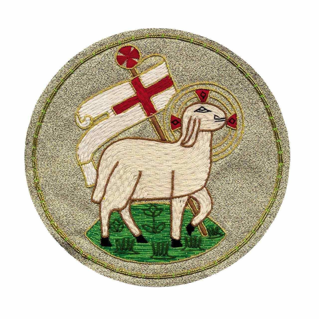 Emblem mit Ostermotiv zur Herstellung eigener Paramente