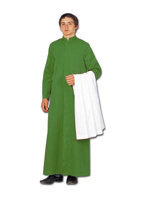 Ministrantentalar mit Ärmel, grün