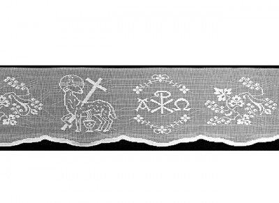 Altarspitze mit Lamm Gottes Motiv