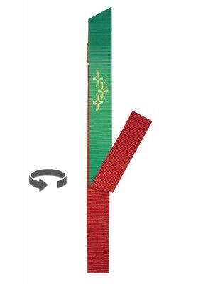 Wendestola in der Frabe rot-grün