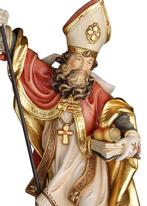 Heiliger Nikolaus mit 3 Äpfeln: antik gefasst