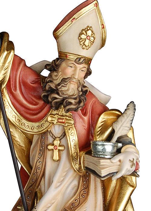 Heiliger Albert d. Große mit Feder: antik gefasst