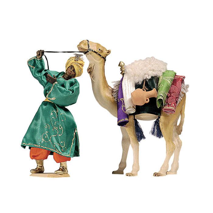 Weihnachtskrippe ORIENT: Kamel mit Gepäck