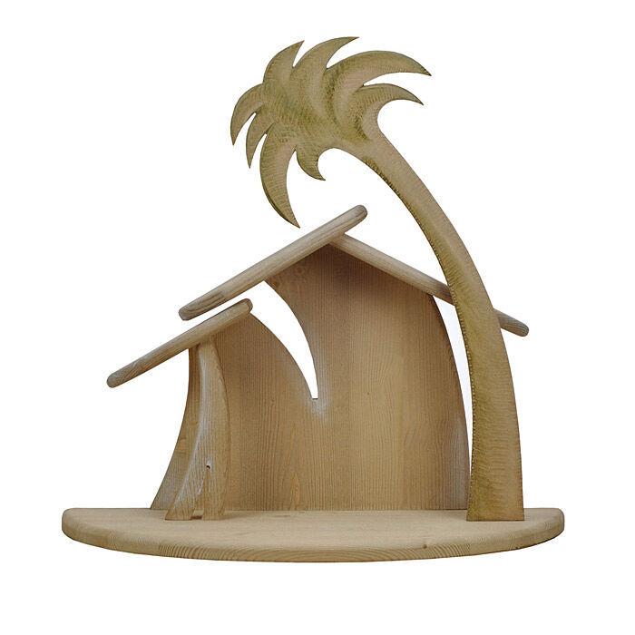 Krippenstall KOMET aus Holz