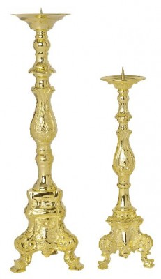 Altarleuchter in der Größe 50 und 60 cm