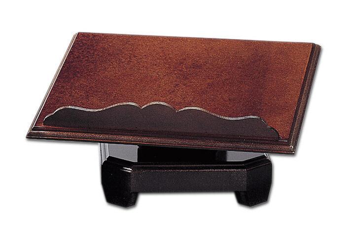 Messbuchpult in braun gebeizt
