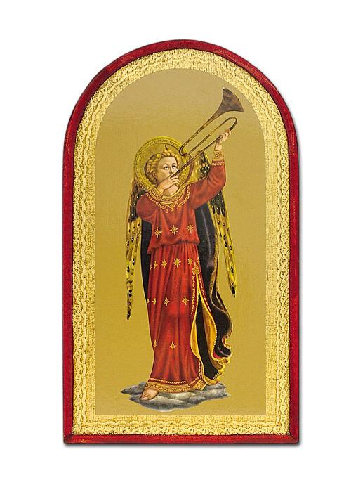 Ikone: Engel mit Posaune