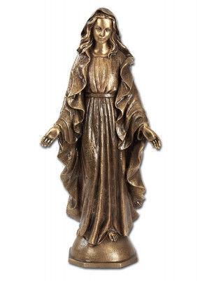 Madonna aus Bronze, zur Verwendung im Freien