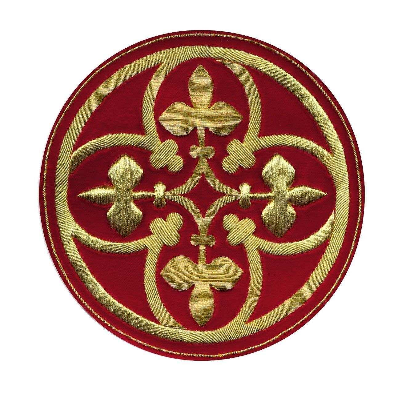 Emblem Kreuz zur Herstellung eigener Paramente