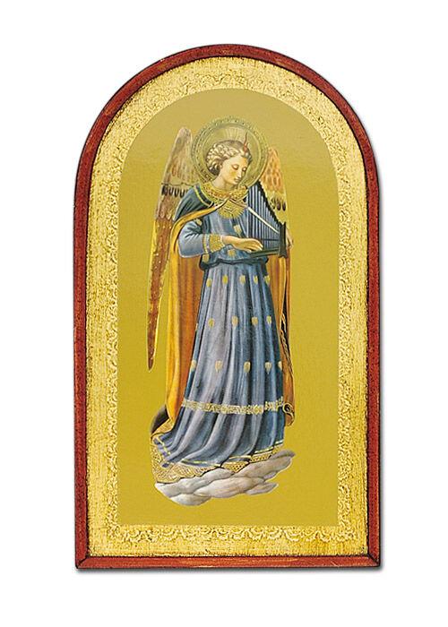 Ikone: Engel mit Orgel
