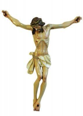Christus-Corpus für den Außenbereich: handbemalt