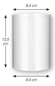 Windschutzzylinder Maße