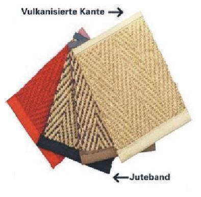Juteband-Einfassung für Sisalteppiche und Kokosläufer