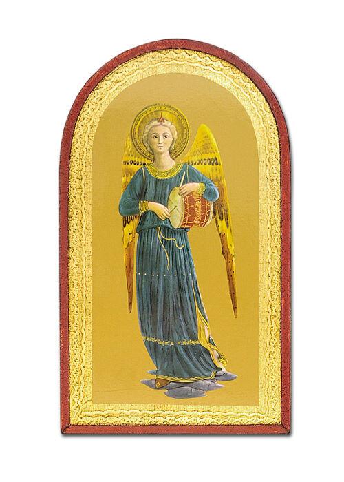 Ikone: Engel mit Trommel
