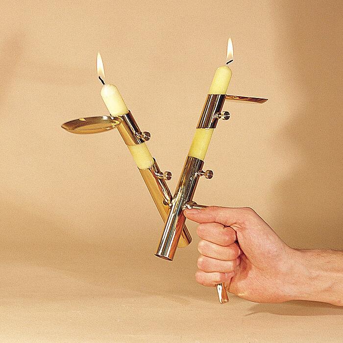 Kerzen für Blasiuskerzenhalter