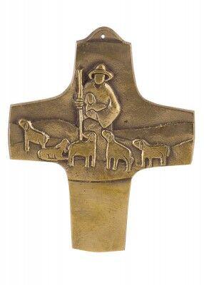 Kommunionkreuz: Das verlorene Schaf