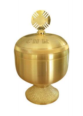 Ölgefäß CHR vergoldet