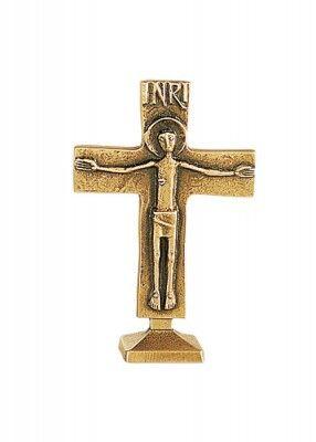 Kleines Altarkreuz aus Bronze