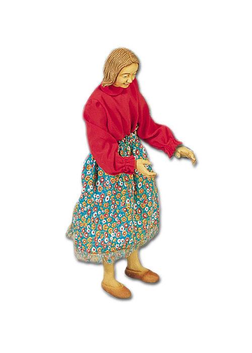 Hirtenmädchen Krippenfigur