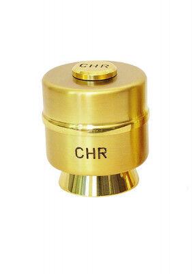 Einzelölgefäß CHR: mit Schraubdeckel, für das Chrisamöl