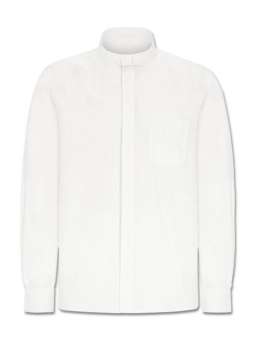 Weißes Collarhemd Langarm