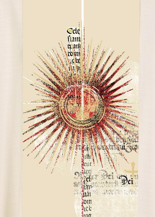 Detailansicht des gedruckten Mittelstabs