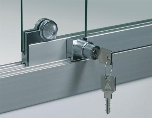 Stabile Aluminiumkonstruktion und abschließbar