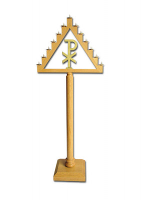 Teneberleuchter mit Symbol XP