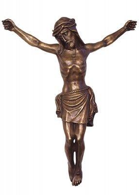Christus-Corpus aus Bronzeguss: rostfrei