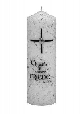 Trauerkerze Christus ist unser Friede
