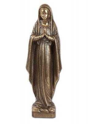 Betende Madonna aus Bronze: zur Verwendung im Freien