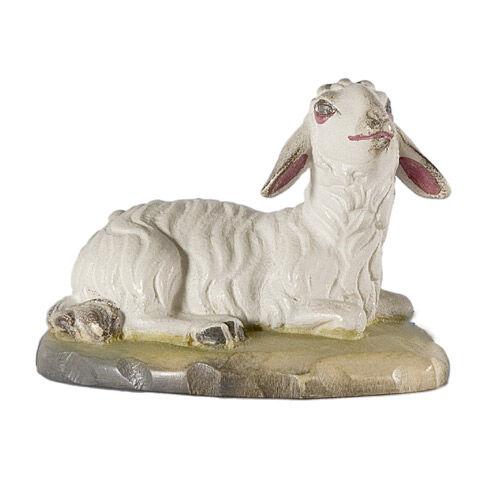 Weihnachtskrippe ST. ULRICH: Schaf liegend